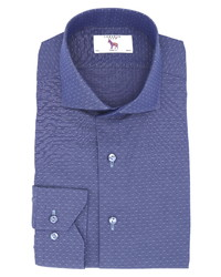 Lorenzo Uomo Trim Fit Dobby Dash Dress Shirt