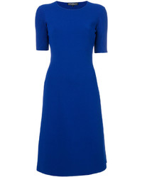 Salvatore Ferragamo Classic Flared Dress