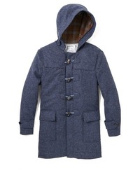 Brooklyn tailors shetland tweed duffle coat medium 120456