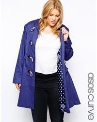 Curve hooded duffle coat medium 125005