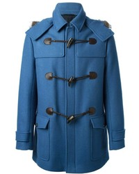 Salvatore Ferragamo Raccoon Trim Duffle Coat