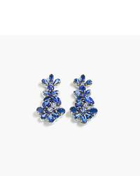 J.Crew Crystal Branch Earrings