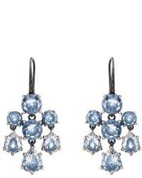Bottega Veneta Cubic Zirconia And Silver Chandelier Earrings