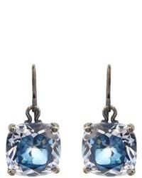 Bottega Veneta Cubic Zirconia And Silver Drop Earrings