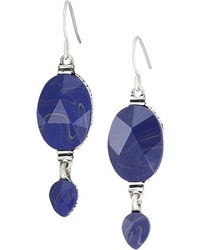 The Sak Double Bead Drop Earrings Earring