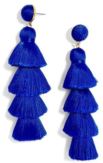 BaubleBar Gabriela Tassel Fringe Earrings
