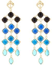 Kendra Scott Gloria Chandelier Earrings Blue