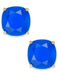 Kate Spade New York Gold Tone Blue Stone Stud Earrings