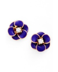 New york shine on flower stud earrings medium 3723329