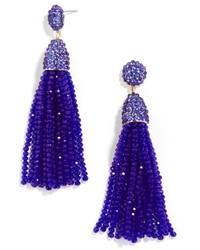 BaubleBar Nynette Tassel Drop Earrings