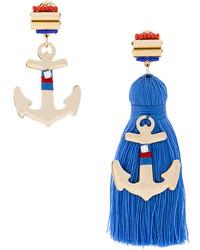 Rada' Rad Embellished Anchor Earring