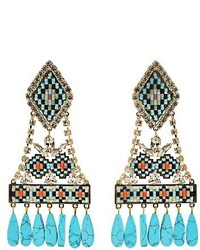 Shourouk Ramses Clip On Earrings