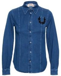 No21 denim shirt medium 321372
