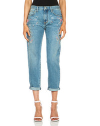 MSGM Embellished Jean