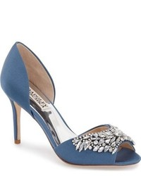 Candance crystal embellished dorsay pump medium 624398
