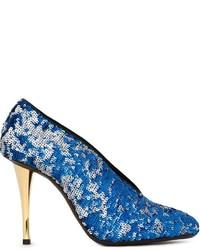 Lanvin Sequin Embellished Stiletto Pumps