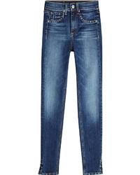 Rag & Bone Embellished Skinny Jeans