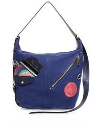 Marc Jacobs Applique Canvas Sling Bag