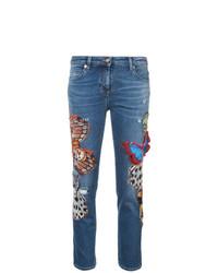 Roberto Cavalli Butterfly Skinny Jeans