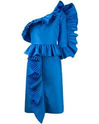 Gucci One Shoulder Modern Dress