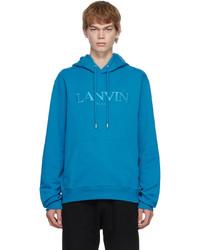 Lanvin Blue Hoodie