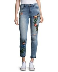 Banjara Embroidered Skinny Fit Jeans