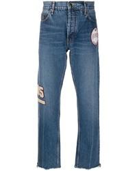 Tommy Hilfiger Crest Patch Straight Leg Jeans