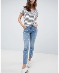 7925b635c14 Women s Blue Embroidered Jeans from Asos