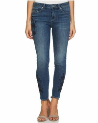 CeCe Floral Embroidered Jean