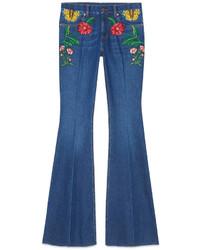 Gucci Garden Denim Pant