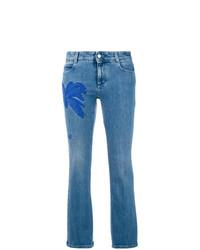 Stella McCartney Palm Tree Kick Jeans
