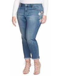 Jessica Simpson Plus Mika Embroidered Jeans