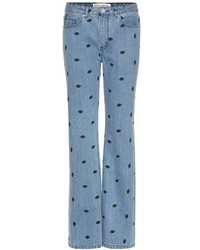 Tre Ccile Embroidered Jeans