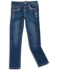 Vigoss Girls 2 6x Embroidered Skinny Jeans