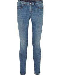 Stella McCartney Mid Rise Skinny Jeans
