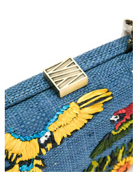 Where To Clutch Raffia Buy Serpui amp; Wear Embroidered How wBtHnZ