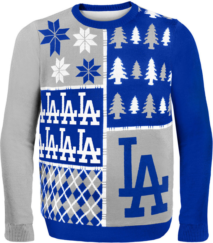 Forever Collectibles Los Angeles Dodgers Christmas Sweater Where