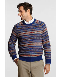 Men's Crew-neck Sweaters by Lands' End | Men's Fashion