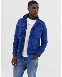 Jack & Jones Premium Field Jacket In Blue