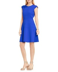 Vince Camuto Seam Detail Fit Flare Dress