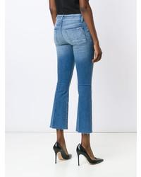 Hudson Carve Cropped Jeans