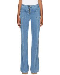 Chloé Chloe Blue Flared Jeans