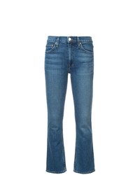 RE/DONE Comfort Stretch Mid Rise Kick Flare Jeans