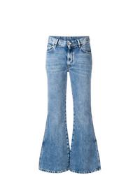 Maison Margiela Cropped Flared Jeans