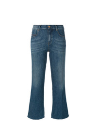 Diesel Cropped Flared Jeans