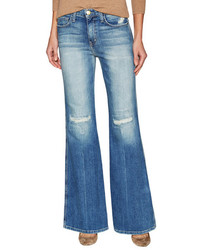 Current/Elliott The Girl Crush Distressed Flared Jean