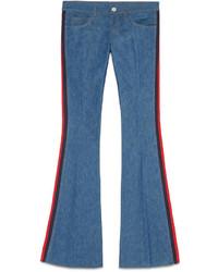 Gucci Denim Flare Pant