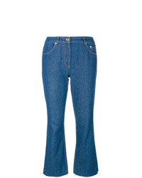 John Galliano Vintage Flared Jeans With Appliqu