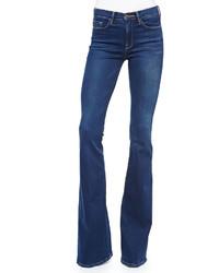 Frame Forever Karlie Flared Leg Palisades Denim Jeans Blue