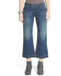 Free People Chelsea Crop Flare Jeans